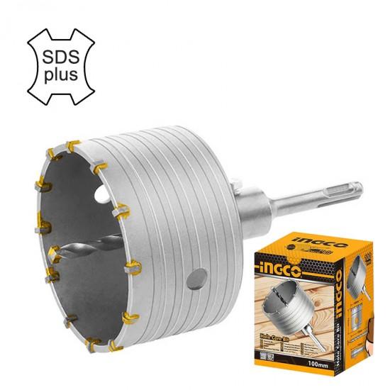 Διαμαντοκορώνα Μπετού Διαμέτρου 100 mm HCB1001 INGCO
