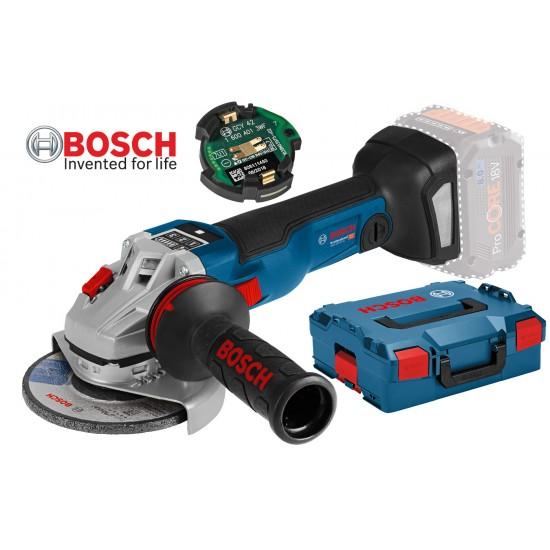 GWX 18V-10 SC Γωνιακός λειαντήρας μπαταρίας SOLO + L-BOXX + Bluetooth Module GCY 30-4 BOSCH