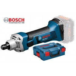GGS 18 V-LI Ευθύς λειαντήρας μπαταρίας SOLO + L-BOXX BOSCH