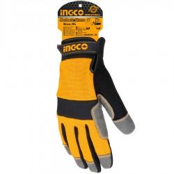 Γάντια Μηχανικών Επαγγελματικά HGMG01-XL INGCO