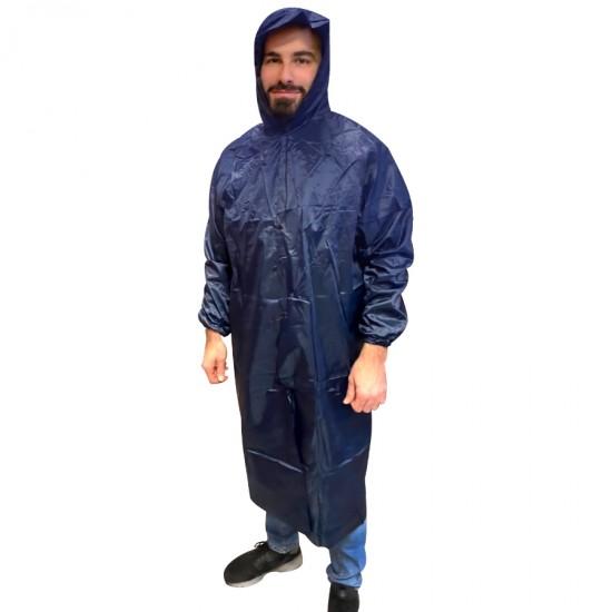Αδιάβροχη Καπαρντίνα Μέγεθος XL και χρώμα Μπλε