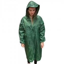 Αδιάβροχη Καπαρντίνα Μέγεθος XXL και χρώμα Πράσινο