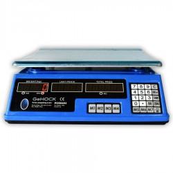 Ψηφιακή επιτραπέζια ζυγαριά 40kg Blue GeHOCK