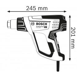 GHG 23-66 Πιστόλι θερμού αέρα 2.300 W με εξαρτήματα BOSCH
