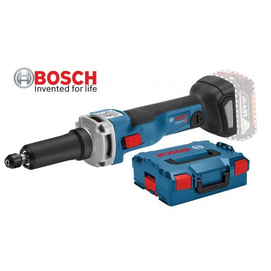 GGS 18V-23 LC Ευθύς λειαντήρας μπαταρίας SOLO + L-BOXX + Σετ εξαρτημάτων BOSCH