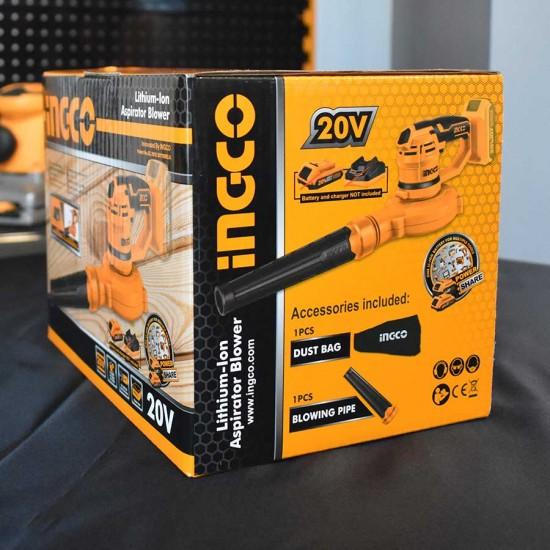 Φυσητήρας Μπαταρίας 20V SOLO CABLI2001 INGCO