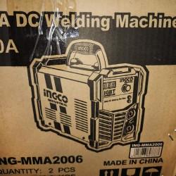 Ηλεκτροσυγκόλληση Inverter 200A Επαγγελματική MMA2006 INGCO