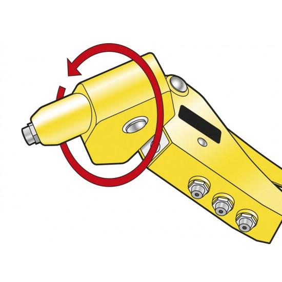 Πρτσιναδόρος Χεριού Περιστρεφόμενης Κεφαλής 2-5mm 6-MR77 STANLEY
