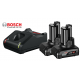2 x GBA 12V 6.0Ah Μπαταρίες + GAL 12V-40 Φορτιστής BOSCH