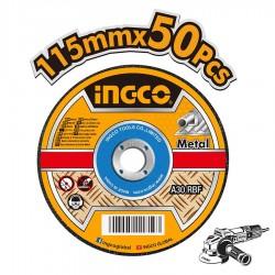 Δίσκοι Κοπής Σιδήρου 50 τεμ / κουτί Φ 115mm MCD1211550 INGCO