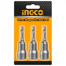 Μύτη Καρυδάκι 1/4  8mm 3τεμ AMN0831 INGCO