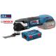 GOP 18 V-28 BOSCH Πολυεργαλείο Multicutter Μπαταρίας SOLO + L-Boxx
