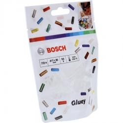 Φυσίγγια θερμοκόλλας Gluey Διαφανή 70 Τεμαχίων BOSCH