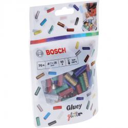 Φυσίγγια θερμοκόλλας Gluey Glitter 70 Τεμαχίων μικτά BOSCH