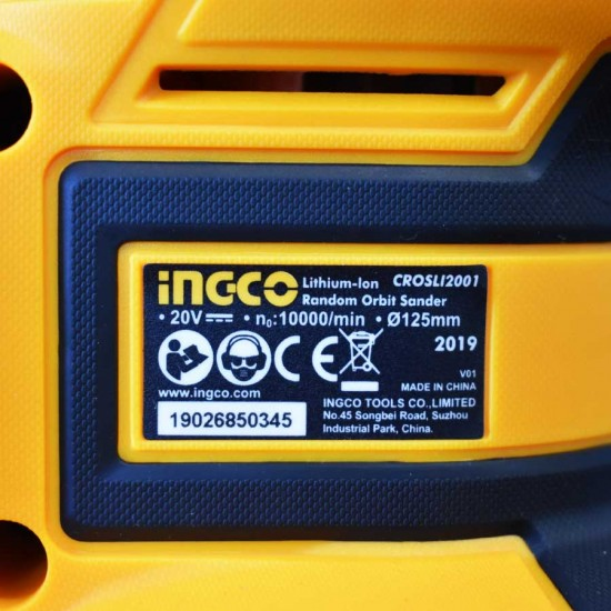 Περιστροφικό Τριβείο Χούφτας Μπαταρίας 20V SOLO CROSLI2001 INGCO