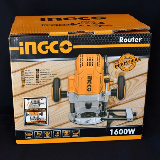 Φρέζα Ξύλου Ηλεκτρική Επαγγελματική 1600 Watt RT160028 INGCO
