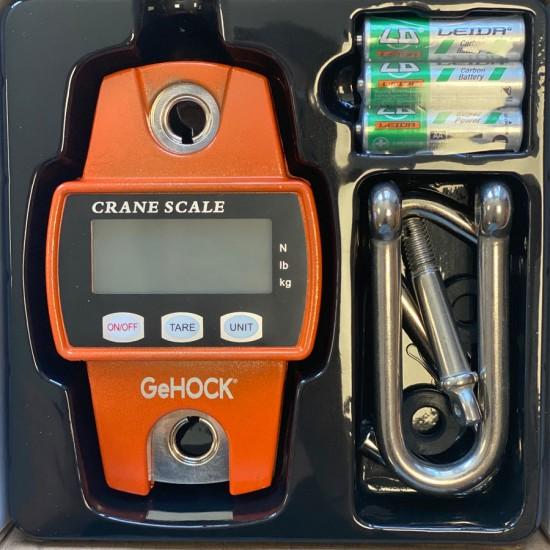 Ψηφιακή Κρεμαστή Ζυγαριά έως 300kg 60-PMCS300 GeHOCK