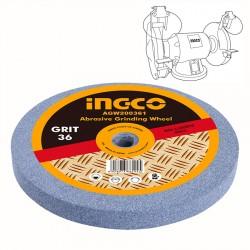 Πέτρα Λείανσης Δίδυμων Τροχών 200mm 36Κ AGW200361 INGCO