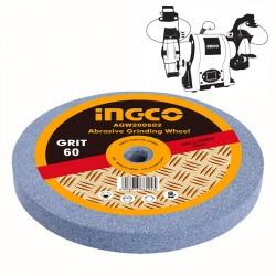Πέτρα Λείανσης Δίδυμων Τροχών 200mm 60Κ AGW200602 INGCO