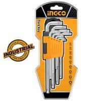 Επαγγελματικό Σετ Κλειδιά Torx Μακριά HHK13092 INGCO