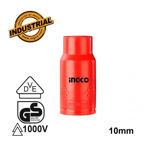 """Επαγγελματικό Καρυδάκι 1/2"""" 10mm Ηλεκτρολόγου 1000V VDE HIHAST12101 INGCO"""