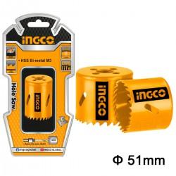 Ποτηροτρύπανα Bi-Metal 51mm HSB10511 INGCO