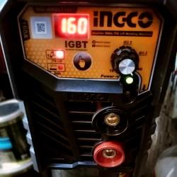 Ηλεκτροσυγκόλληση Inverter 160Α και για TIG MMALT1607 INGCO