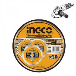 Διαμαντόδισκος Πλακιδίων Ξηράς Κοπής DMD011252M INGCO