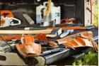 Παρελκόμενα, εργαλεία, καύσιμα STIHL