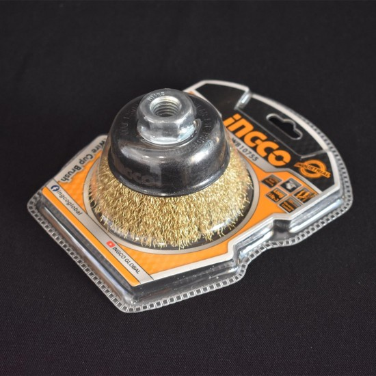 Επαγγελματική Συρματόβουρτσα  Γωνιακού Tροχού Φ 75mm WB10755 INGCO