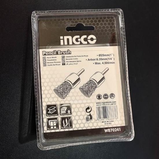 Συρματόβουρτσα δραπάνου πινέλο INGCO