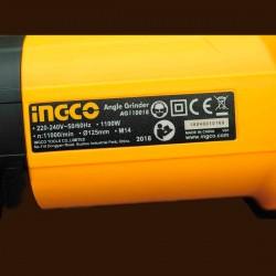 Επαγγελματικός Γωνιακός τροχός AG110018 INGCO