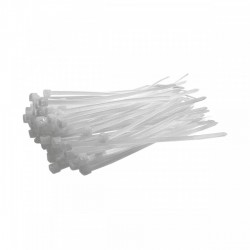 Δεματικά Λευκά 3.6 x 140mm 100 τεμάχια 60-036140 GeHOCK