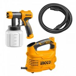 Επαγγελματικό Ηλεκτρικό Πιστόλι Βαφής 500W SPG5008 INGCO