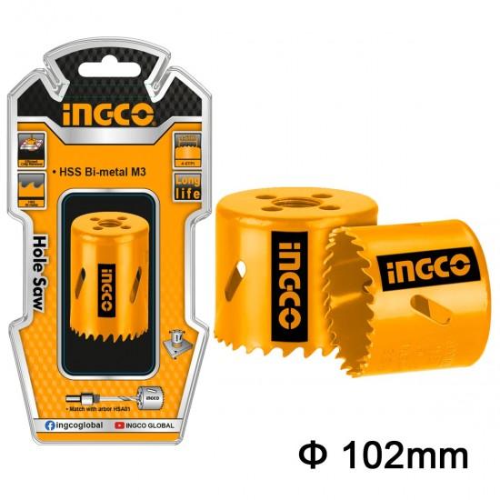 Ποτηροτρύπανα Bi-Metal 102mm HSB101021 INGCO