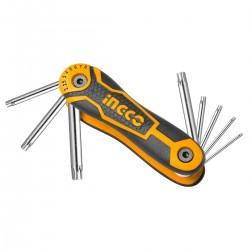 Kλειδιά Torx Σουγιάς HHK14083 INGCO