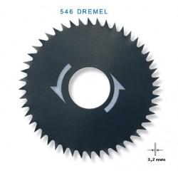 Πριονόλαμα διαμήκους εγκάρσιου κοψίματος 546 DREMEL