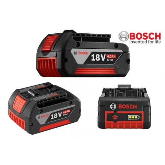 GDR 18 V-LI BOSCH Δραπανοκατσάβιδο Περιστροφικό Μπαταρίας + 2x4.0 Ah + L-Boxx