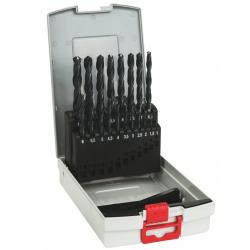 Σετ Pro Box τρυπάνια μετάλλου HSS-R 19 τεμαχίων σε θήκη BOSCH