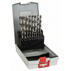 Σετ Pro Box τρυπάνια μετάλλου HSS-G 19 τεμαχίων σε θήκη BOSCH
