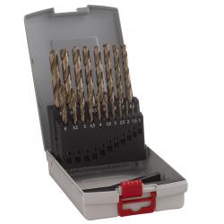 Σετ Pro Box τρυπάνια μετάλλου HSS-Co 19 τεμαχίων σε θήκη BOSCH