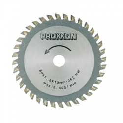 Λεπίδα με άκρες καρβιδίου- βολφραιμίου 36 δοντιών Proxxon