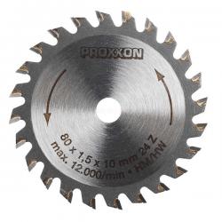 Λεπίδα με άκρες καρβιδίου- βολφραιμίου 24 δοντιών Proxxon