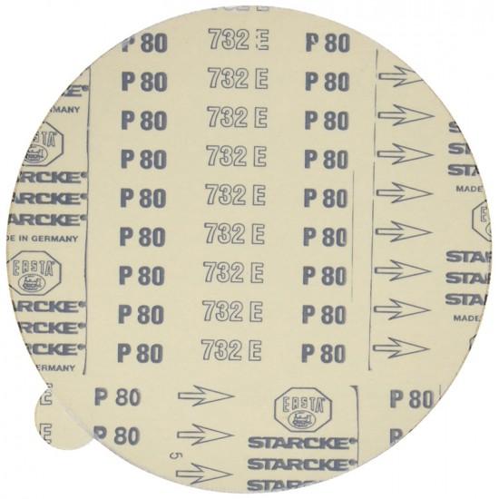 Αυτοκόλλητοι Δίσκοι Λείανσης Κορουνδίου Κ80 5τμχ Proxxon