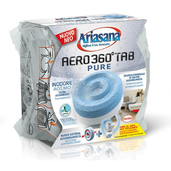 Ariasana Aero 360 Ανταλλακτική Ταμπλέτα Υγρασίας Άοσμη