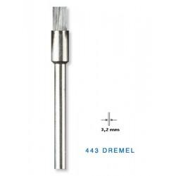 443 Συρματόβουρτσα από ανθρακούχο χάλυβα DREMEL