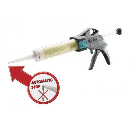 4355000 Wolfcraft Πιστόλι Σιλικόνης
