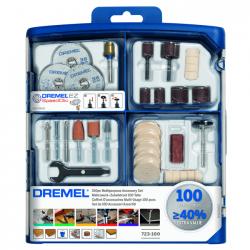 Σετ εξαρτημάτων πολλαπλής χρήσης 100 τεμαχίων 723 DREMEL