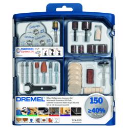 Σετ εξαρτημάτων πολλαπλής χρήσης 150 τεμ. 724 DREMEL