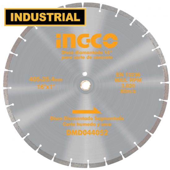 Διαμαντόδισκος ασφάλτου 405mm INGCO